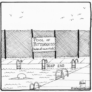 Pool of bitterness